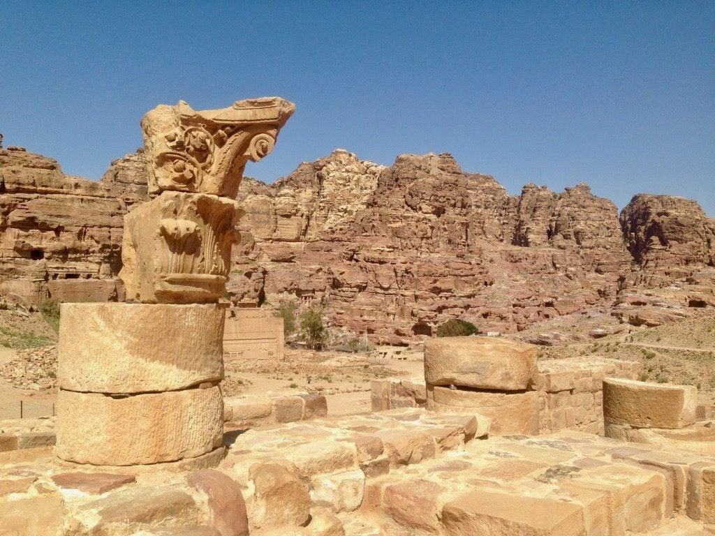 la Strada colonnata di Petra