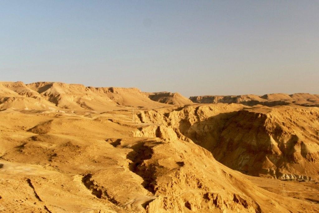 Il deserto visto da Masada