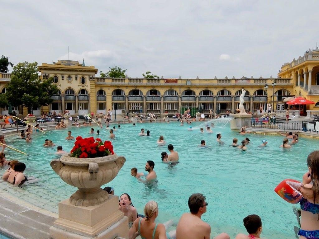Le terme Szecheny a Budapest