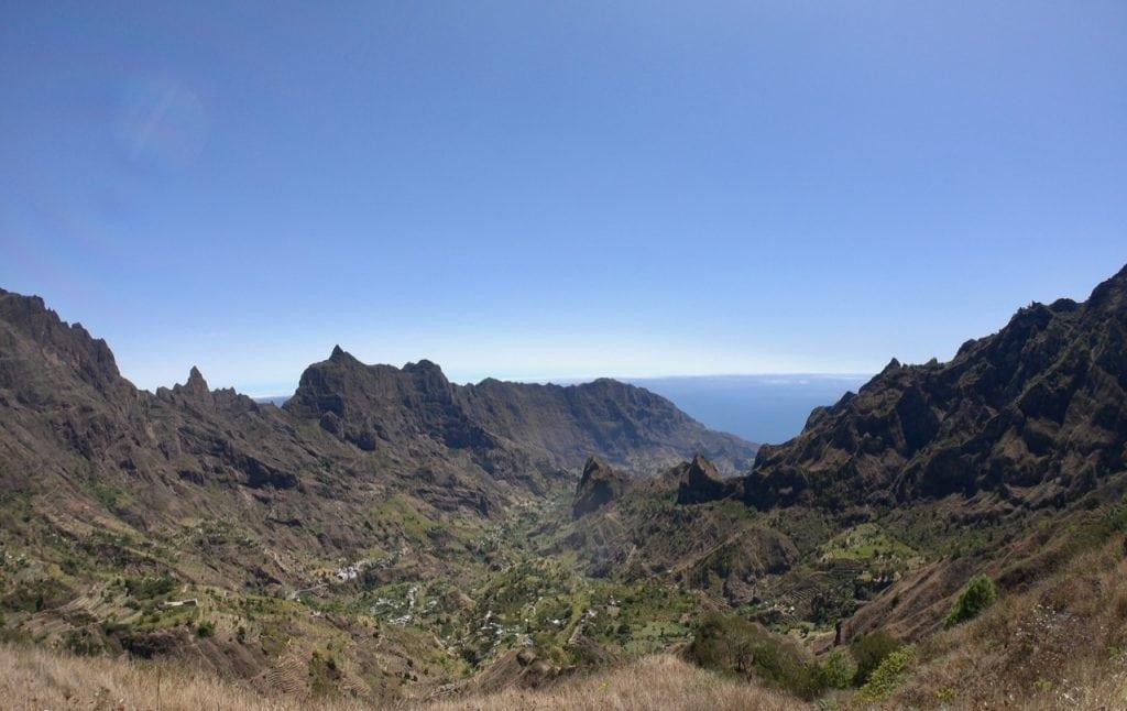 Il panorama mozzafiato della valle di Paul