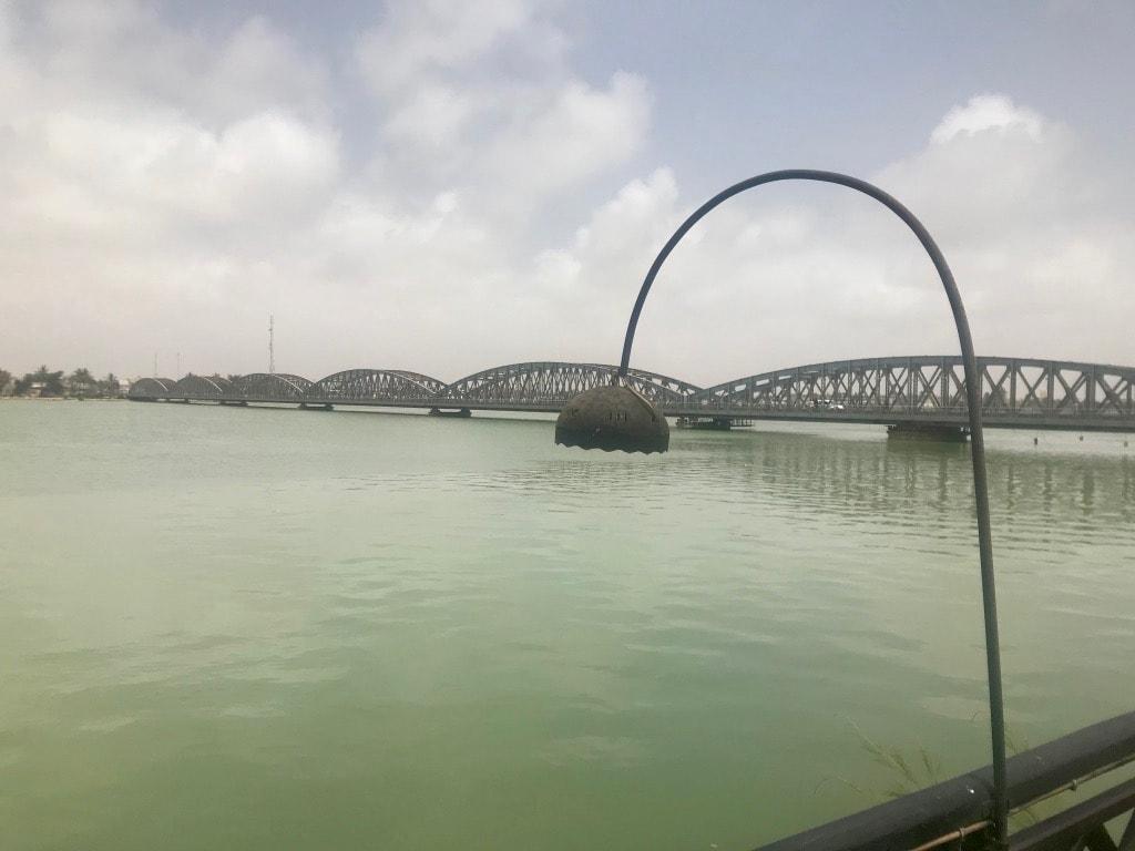 Il Faidherbe Bridge visto dal Flamingo