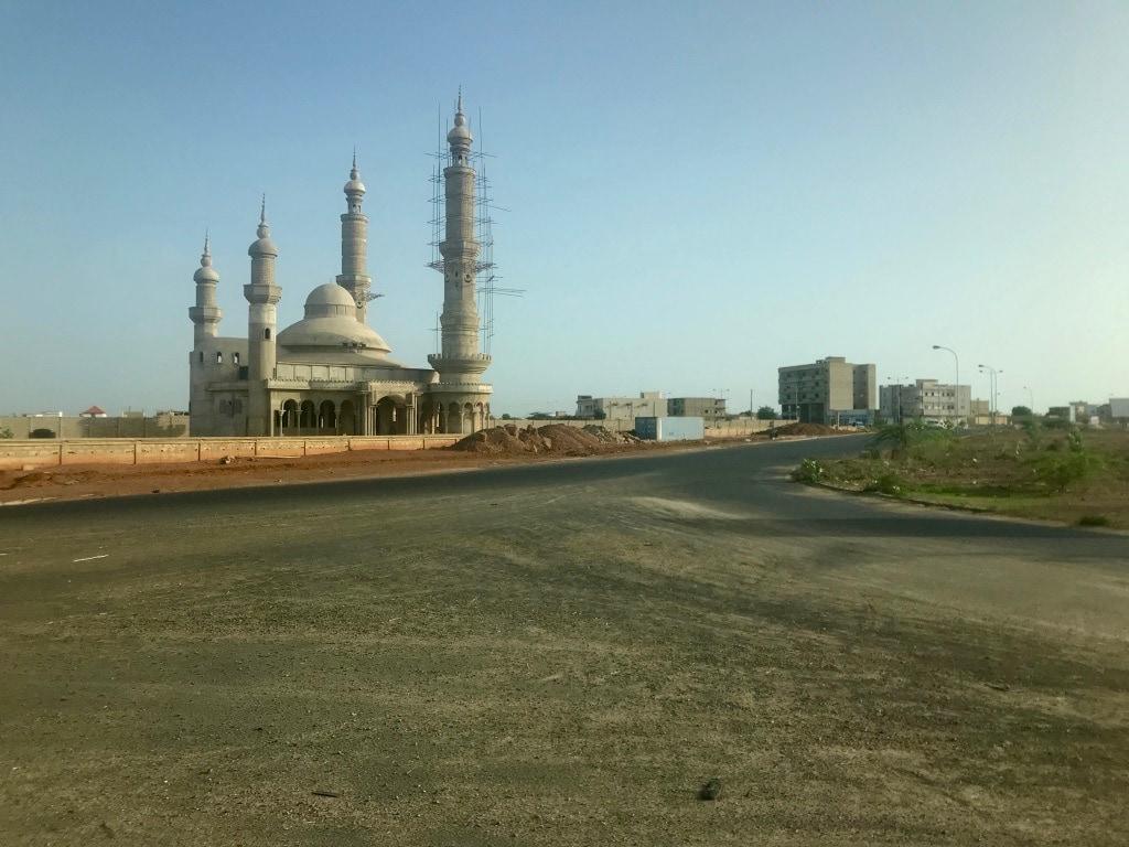 Una moschea a Thies