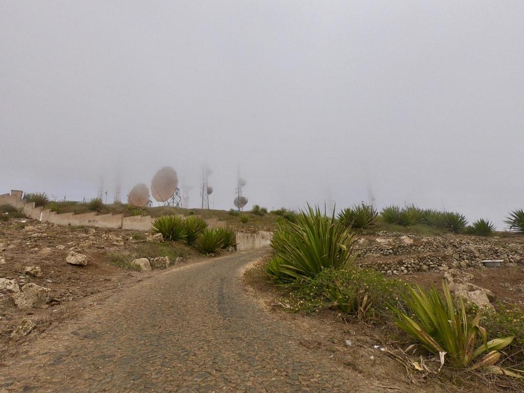 La base militare di Sao Vicente in cima a Monte Verde