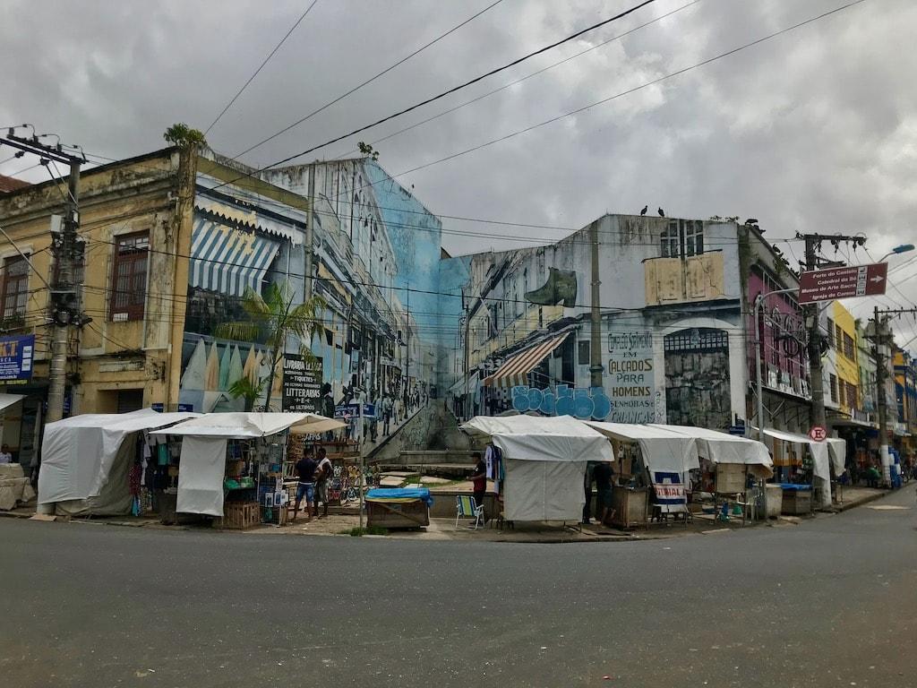 Un angolo di una strada di Belém