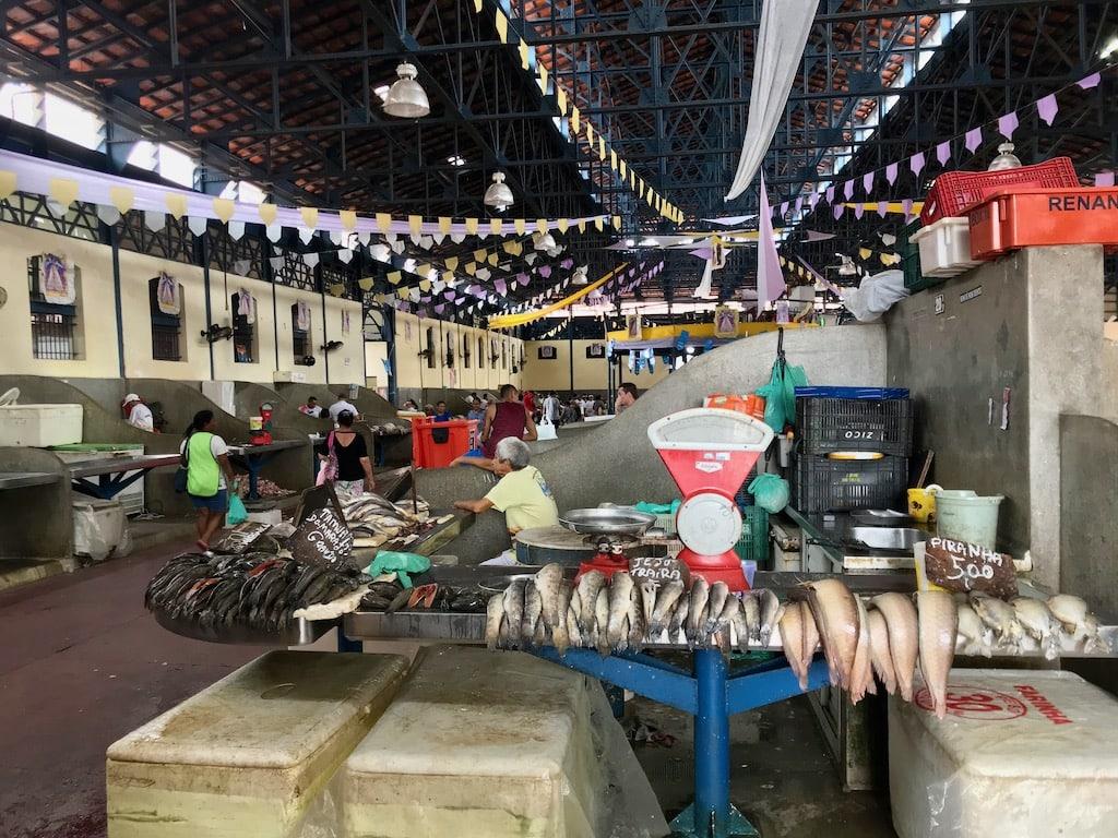 Pesce in vendita al Mercado Ver-o-Peso