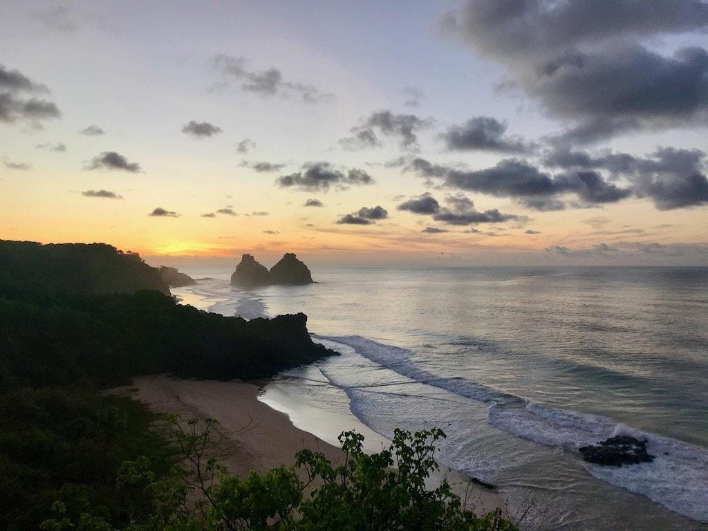tramonto isola san fernando de noronha
