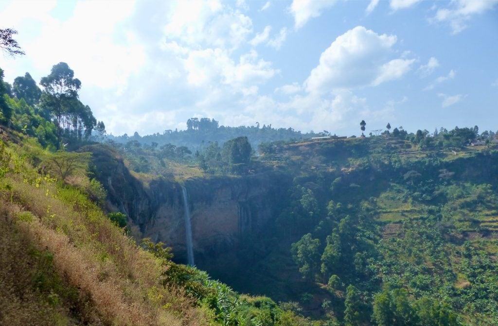sipi falls mt elgon uganda
