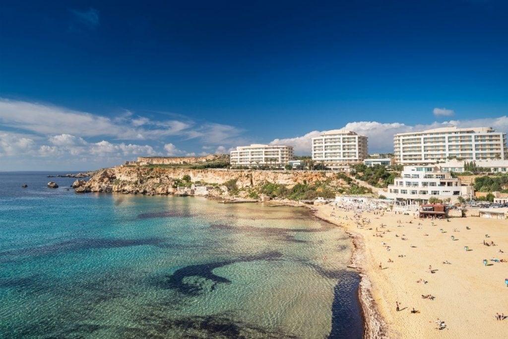 golden bay malta spiagge più belle