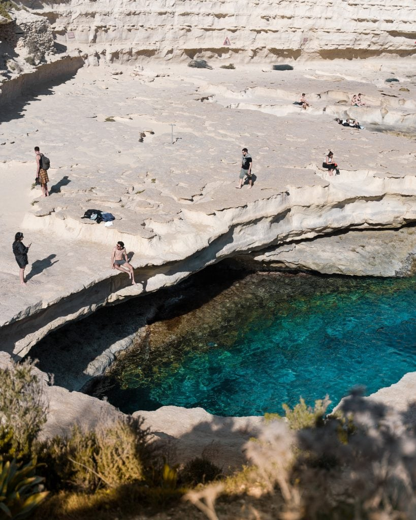 spiagge belle malta St. Peter's pool