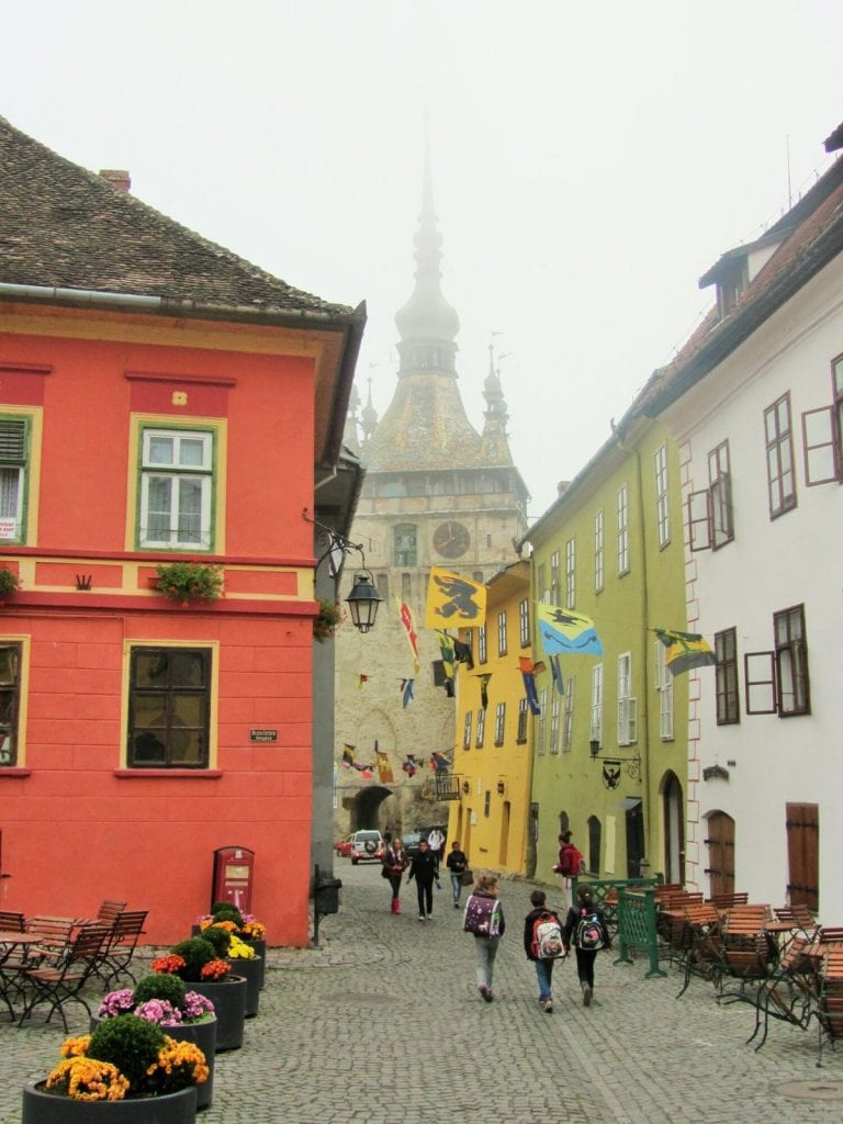 viaggio transilvania sighisoara