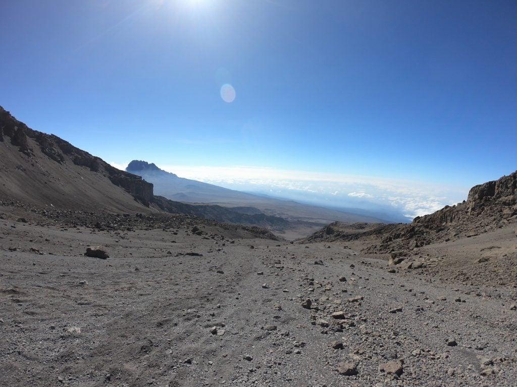 viaggio sul kilimangiaro summit night