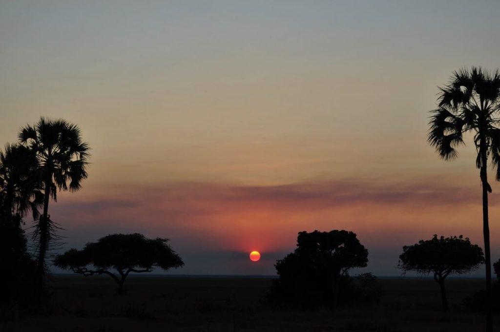 safari al tramonto al katavi national park