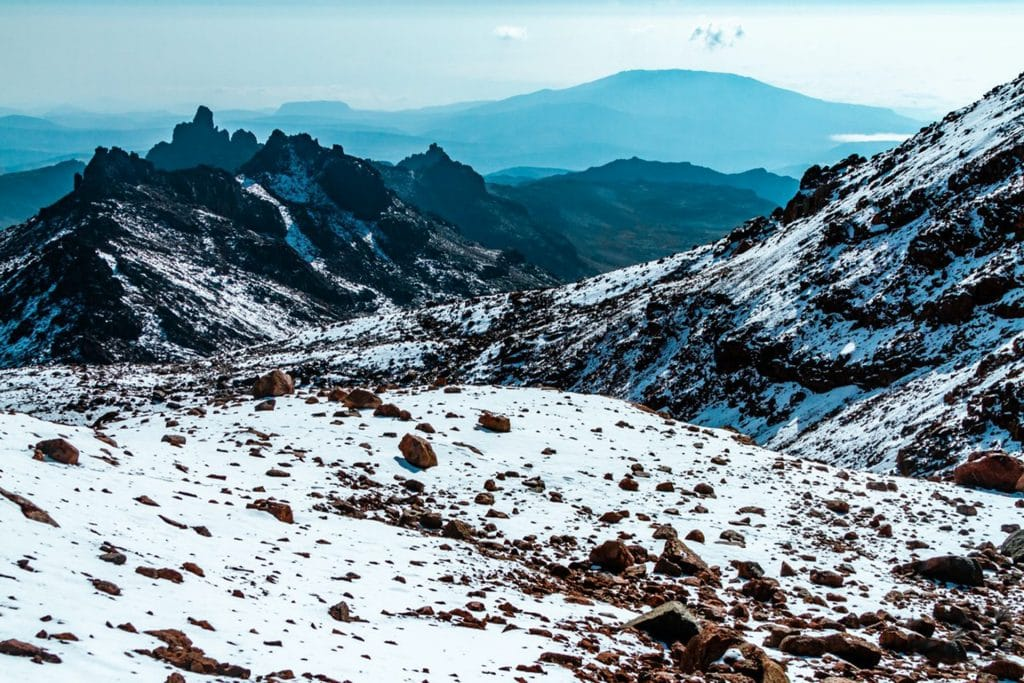 i migliori trekking del mondo monte kenya