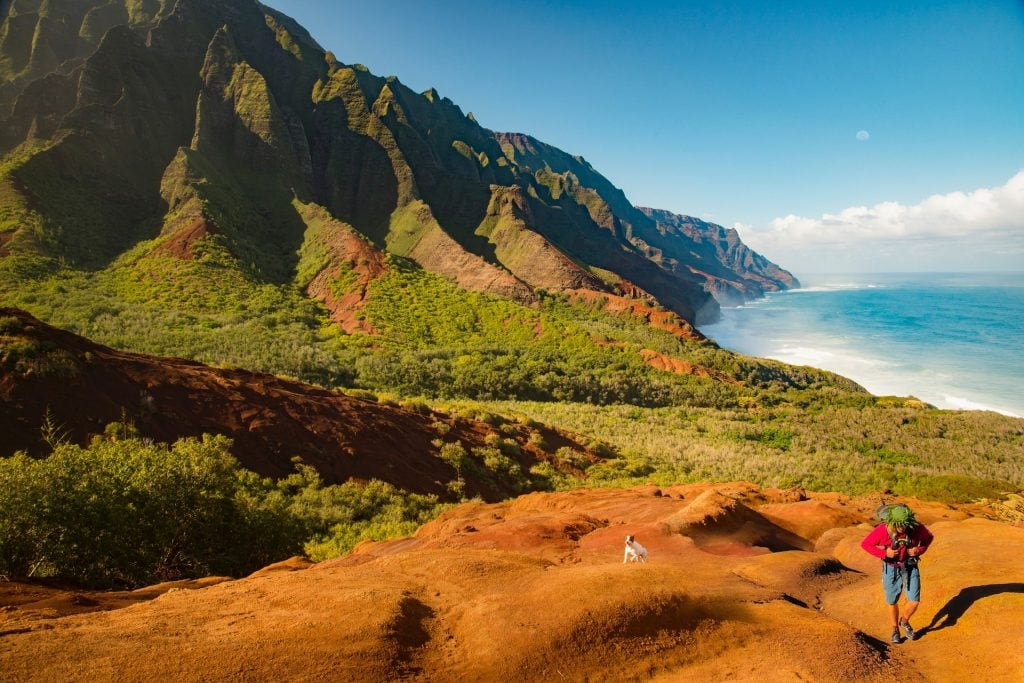 kalalau trail trekking alle hawaii
