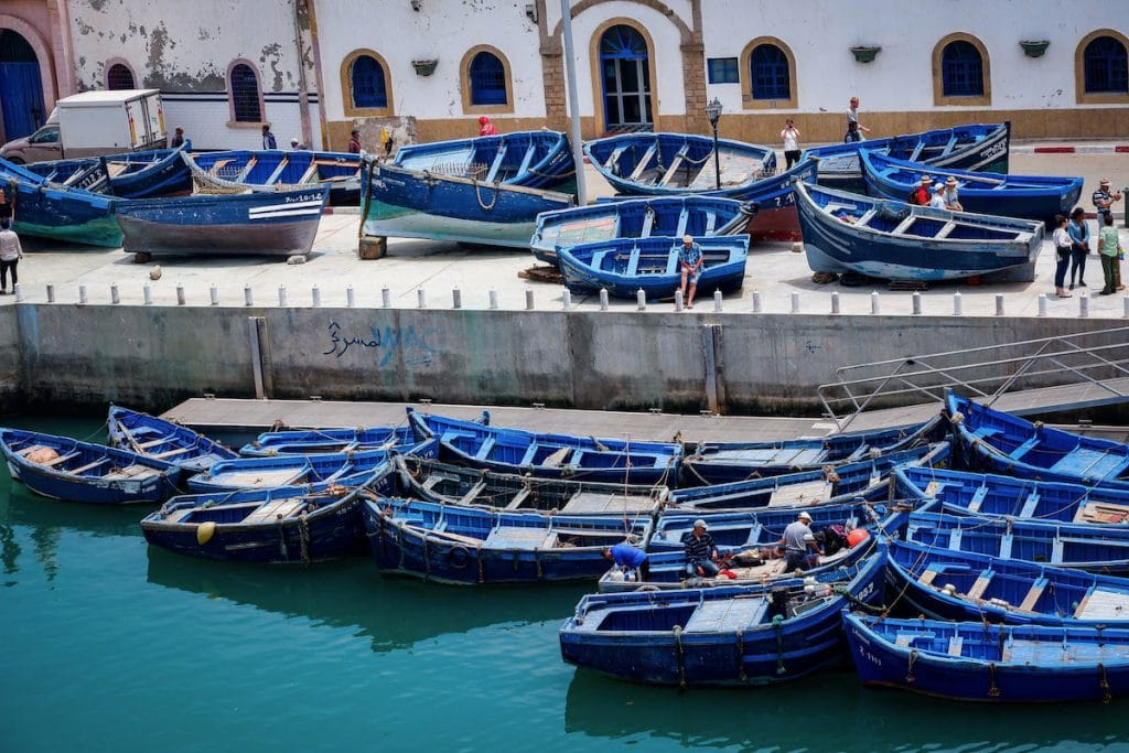 marocco essaouira mare