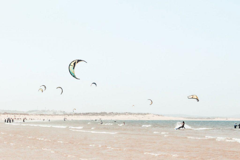 spiaggia di essaouira kite