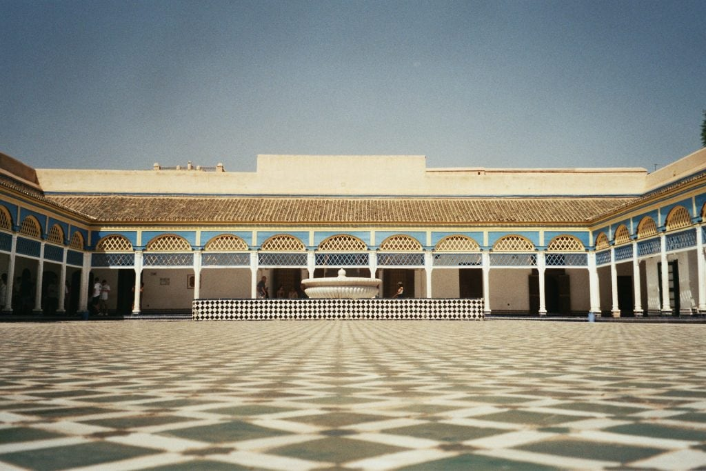 bahia palace marrakech cosa vedere