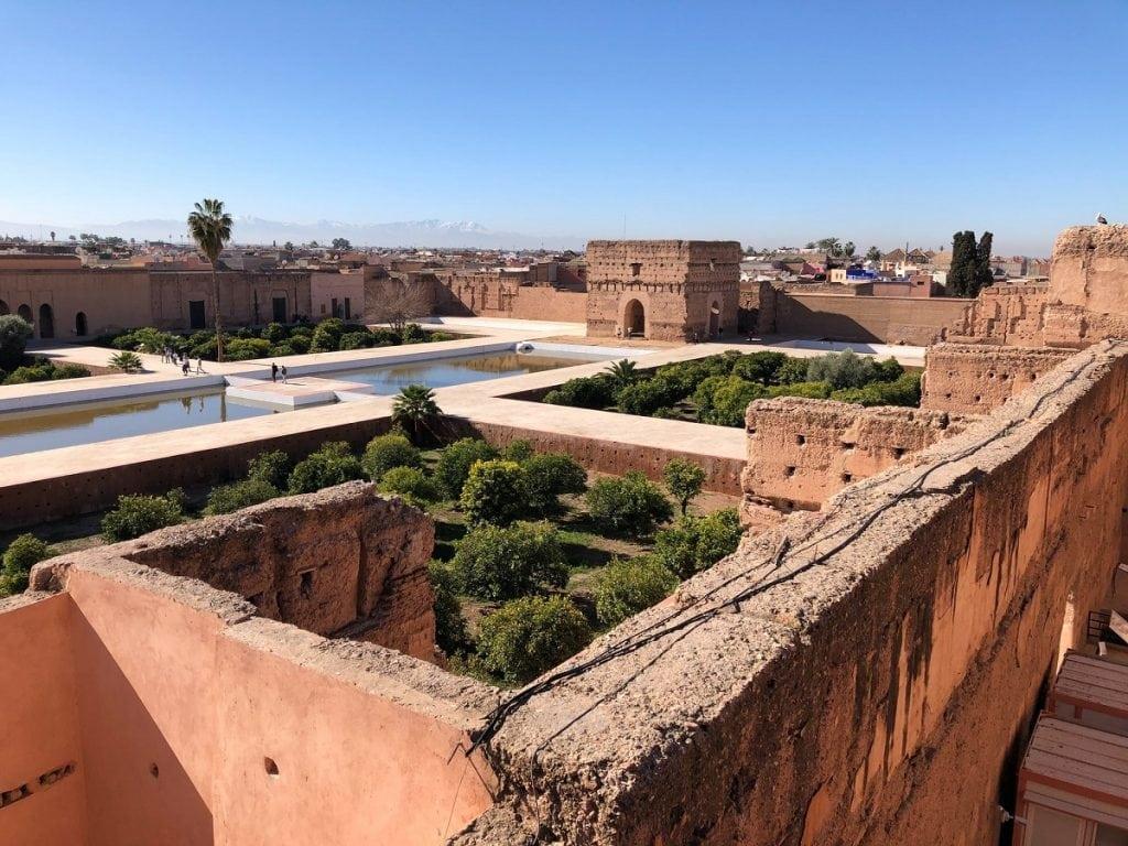 el badi palace marrakech cosa vedere in una settimana