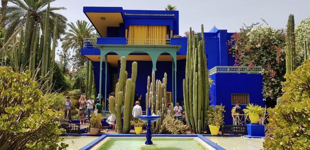 marrakech cosa vedere in 5 giorni giardini majorelle