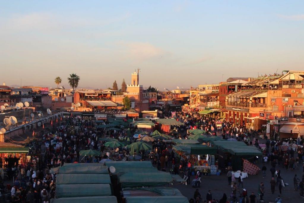 cose da vedere a marrakech jemaa el fna