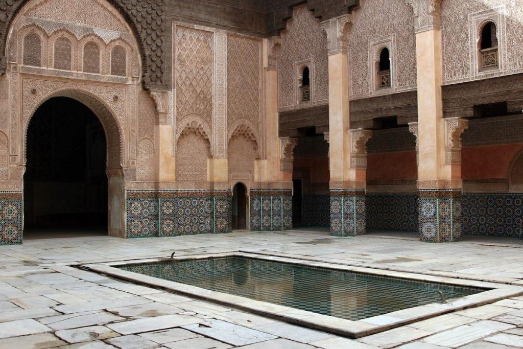 marrakech cosa vedere in due giorni madrasa ben youssef