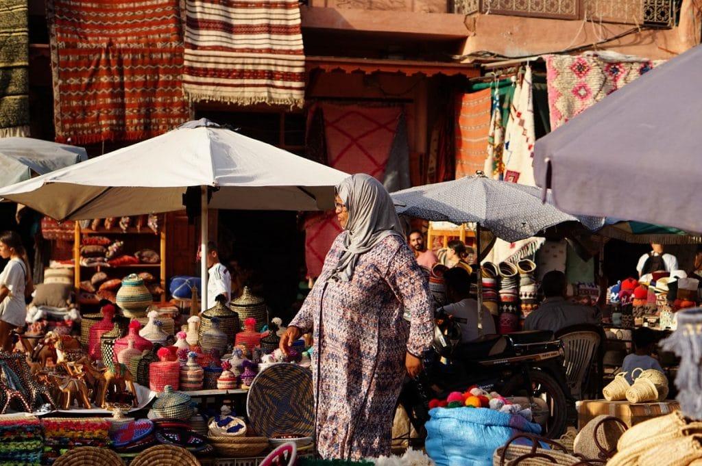 andare a marrakech souk