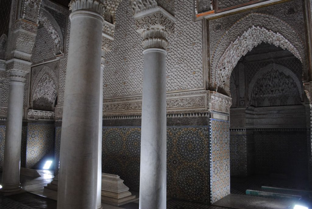 marrakech cosa vedere in 4 giorni saadian tombs