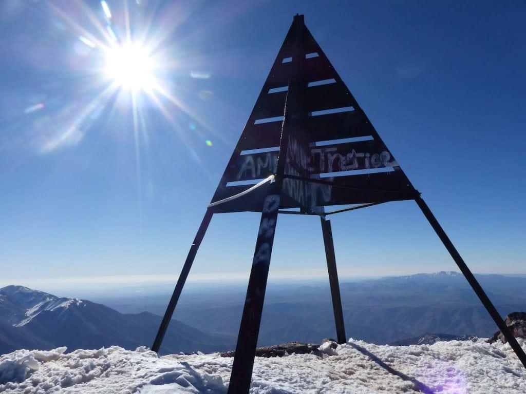cima jbel toubkal marocco trekking