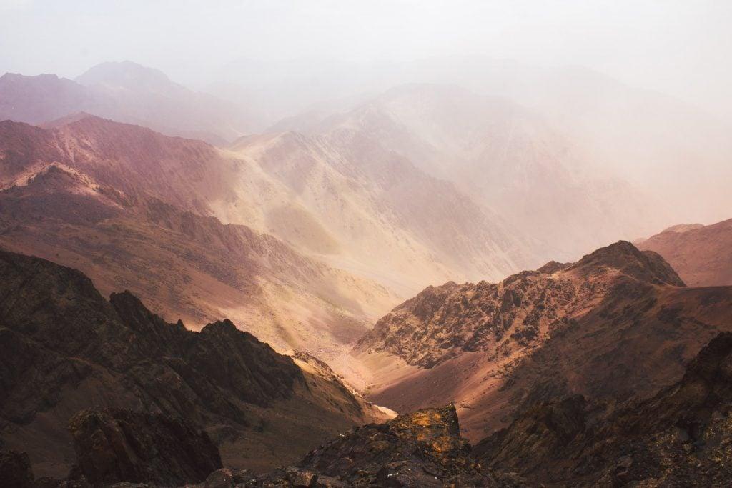 catena montuosa marocco