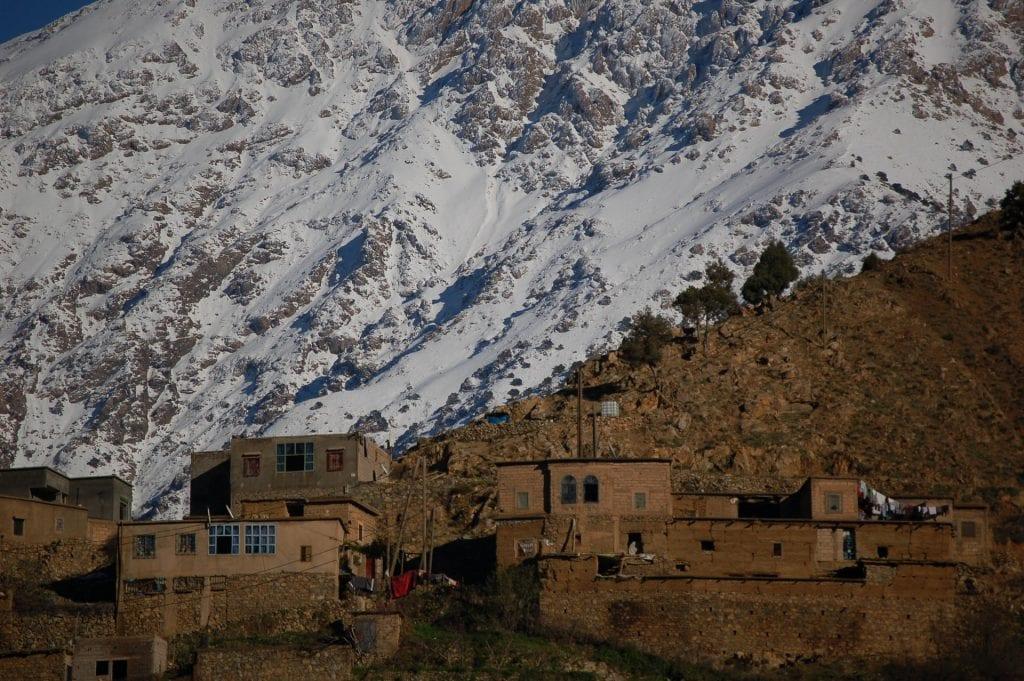 villaggio berbero marocco toubkal