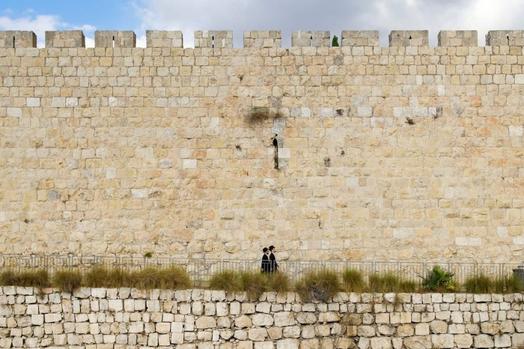 mura dei quartieri gerusalemme